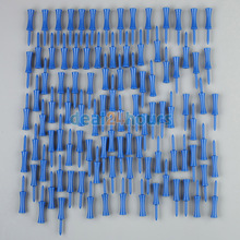 New 100pcs Plastic Step Down Golf Tees Graduated Castle Tee Height Control 68mm / 2.68inch FREE Shipping(China (Mainland))