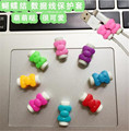 USB cable Earphones Protector colorful hello kitty Cover for iPhone 4 4s 5 5s 6 6s