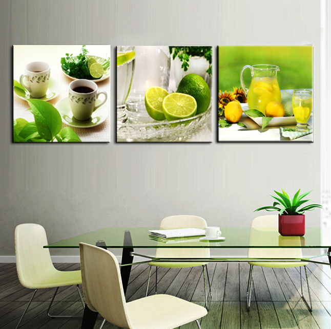 Buy 1set Fruit Party Wall Painting Home