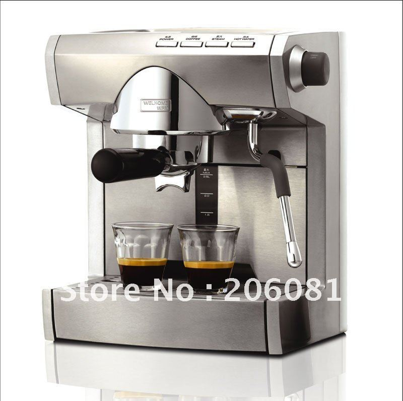 Commercial Automatic Coffee Maker ~ Semi automatic professional commercial espresso coffee