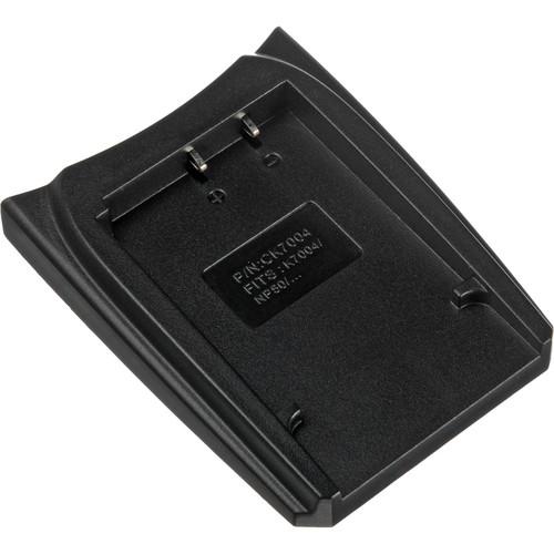Udoli Rechargeable Battery Adapter Plate for Pentax D-Li68/Li122 fujifilm NP-50/50A Kodak KLIC-7004 Type Battery Charger(China (Mainland))