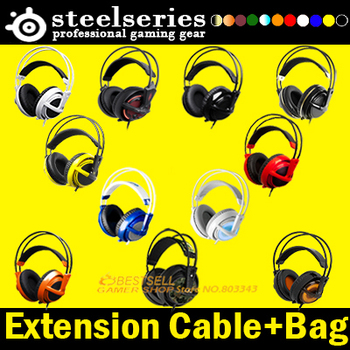 Steelseries Siberia V2 + Extension+ BAG, Gaming Headphone , Free & Fast Shipping, Drop shipping