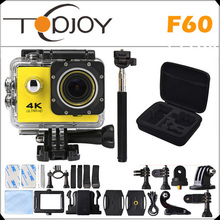 """Buy 4K Wifi Action Camera F60 4K/30fps 1080P/60fps 720P/120fps 2.0"""" 170D Helmet Cam Mini Camera Waterproof Action Camera for $40.20 in AliExpress store"""