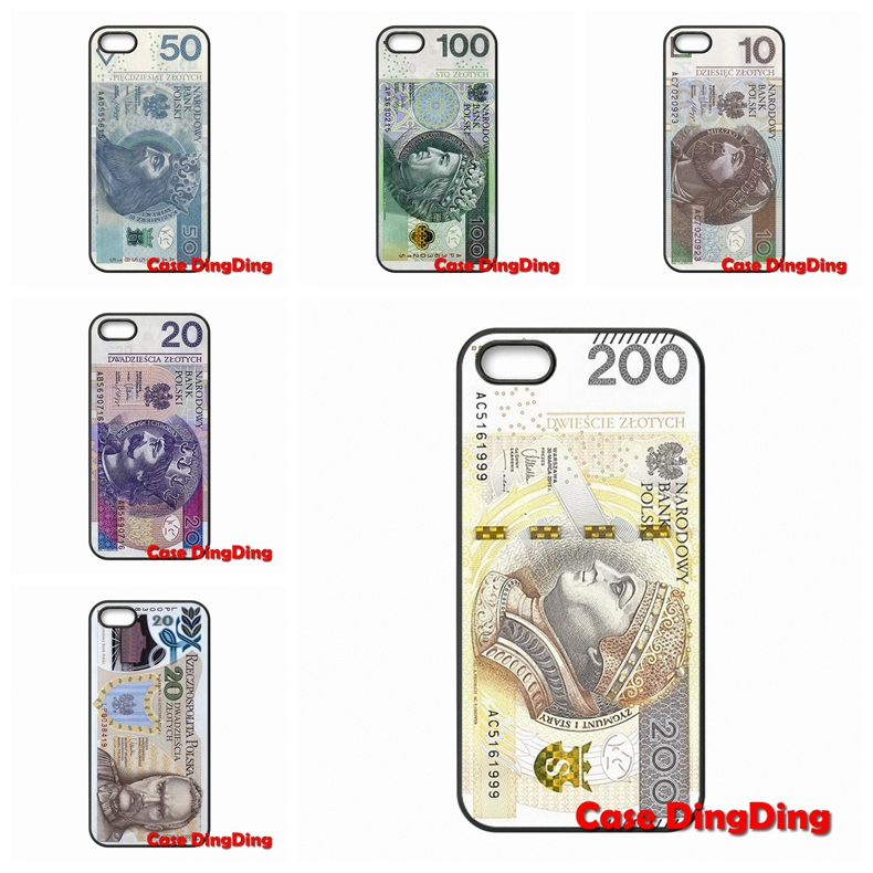For Apple iPod Touch 4 5 6 iPhone 4 4S 5 5C SE 6 6S Plus Moto X1 X2 G1 E1 Razr D1 Razr D3 Poland zlotych accessories Case(China (Mainland))