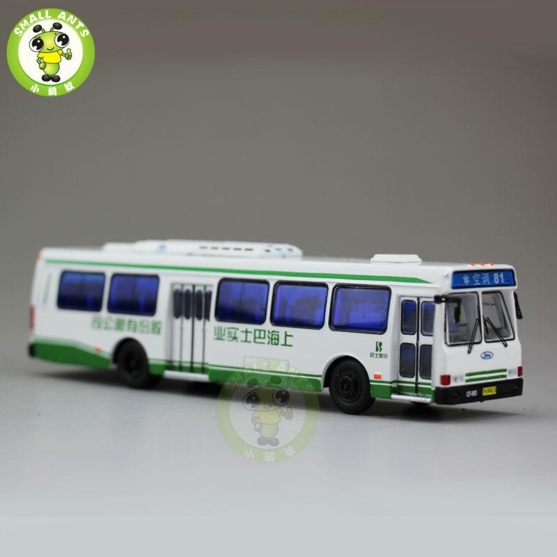 1:76 America Flxible Bus China ShangHai Bus NO.81 Diecast Bus Car Coach Models(China (Mainland))