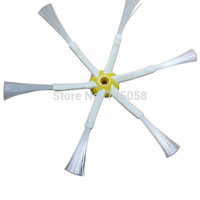 2015 hot sale  6 Armed Side Brush for iRobot Roomba 500 600 700 Vacuum Cleaners with 3 Pieces Screw for iRobot Roomba E3376 P