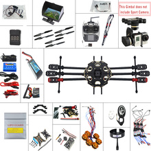F07807-G JMT 2.4G 9CH 680PRO PX4 GPS 5.8G Video FPV RC Copter Full Kit RTF DIY RC Drone Combo MINI3D Pro Gimbal(China (Mainland))