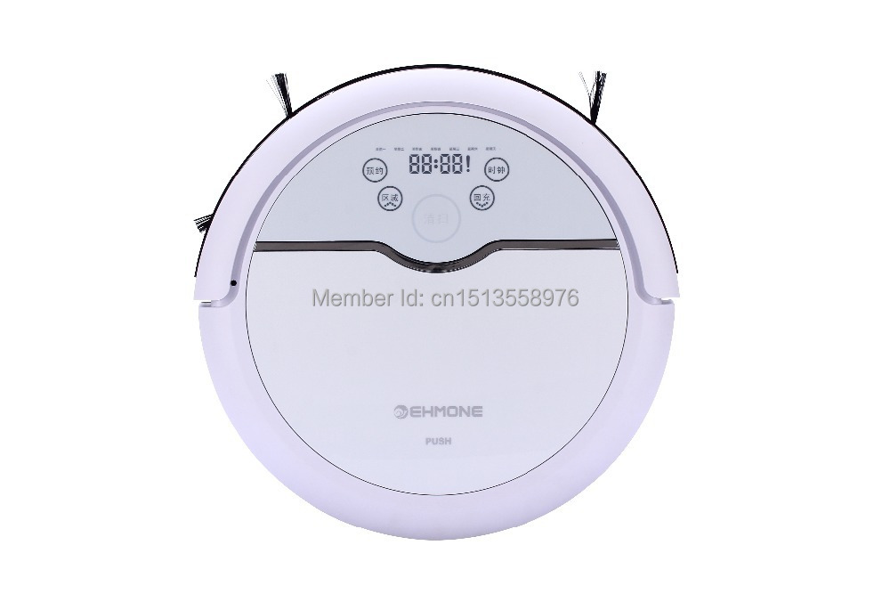 Auto recharge, 15M through wall remote control, low noise, only in the sun's working, smart robot vacuum cleaner(China (Mainland))