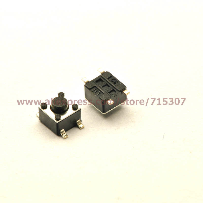 Free shipping 20pcs 4.5*4.5*3.8/4.5x4.5x3.8MM touch button switch smd 4pin(China (Mainland))