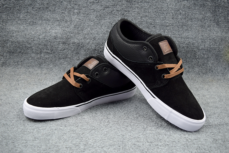 Фотография 2016 GLOBE MAHALO Boys Footwear Black/Toffee Anti-Fur Street Shoes Shock-Absorbant Skate Deck Shoes Size6-10.5 Available