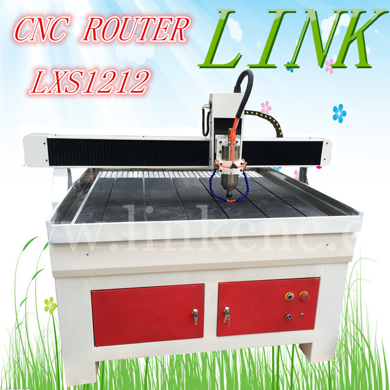 lathe cnc router wood/metal/stone cnc machine 1212 New Model!(China (Mainland))