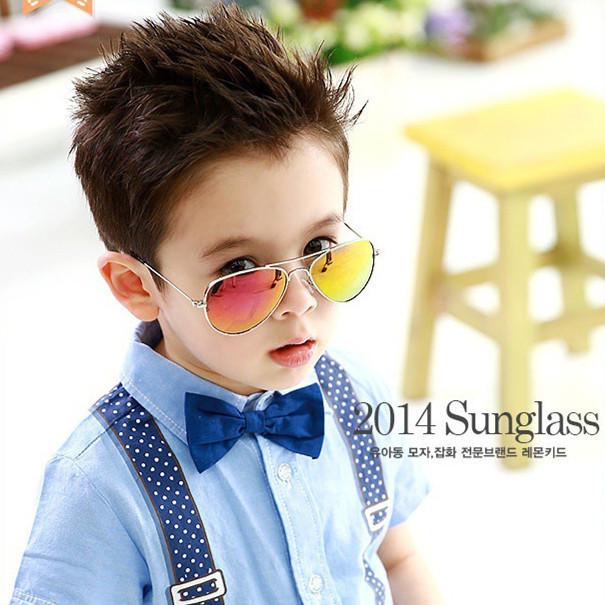Мальчики-младенцы девочки дети аксессуары солнечные очки против ультрафиолетовый ...