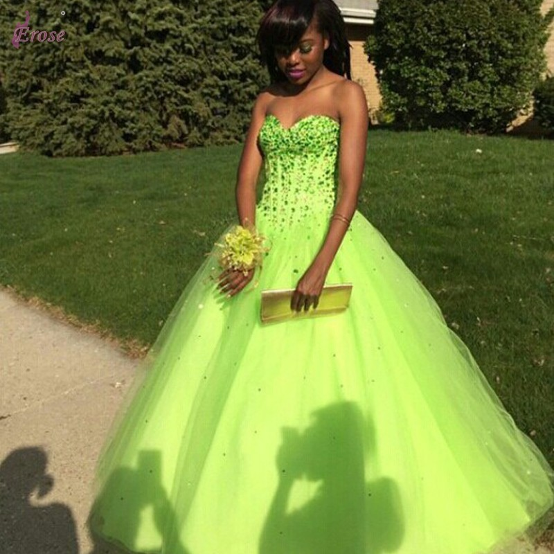 Popular Prom Dress Lime Green-Buy Cheap Prom Dress Lime Green lots ...