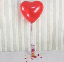 Hot Sell Love Heart Shape Airl Balloons Latex Thicken Ballon Wedding Party Celebration Decor Supplies 36 Inch 10 Pcs/Lot(China (Mainland))