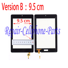 Black Touch Screen Digitizer Glass   For Acer Iconia One 7 B1-730 B1 730 B1-730hd  Free Shipping ( Version B : 9.5 cm )(China (Mainland))