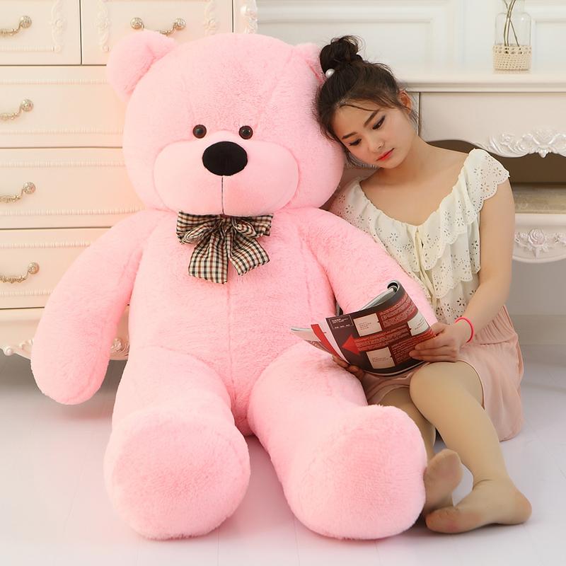 Big Sale Giant teddy bear soft toy 160cm huge large big stuffed toys animals plush kid children baby dolls toy valenti(China (Mainland))