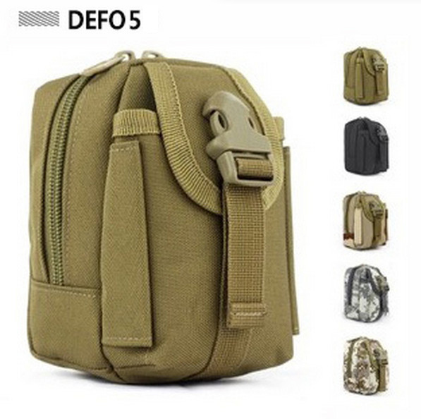 MOLLE enhance running small muddy kit tool utility waist bag military field cell Tactical mobile phone package gadget purse(China (Mainland))