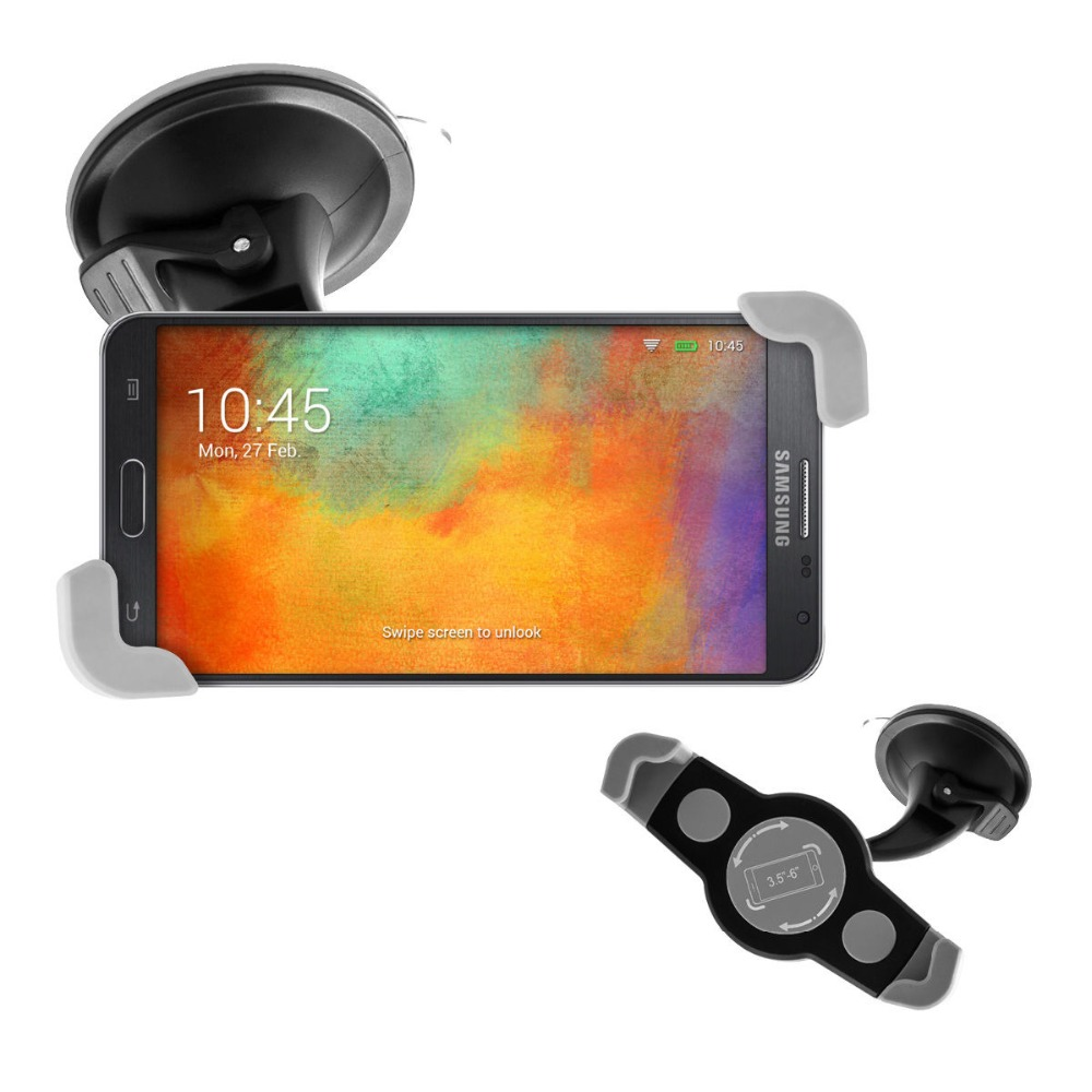 3.5-6 inch Universal 360 Rotating Windshield phone Car Holder Stand For ASUS Zenfone 2 3 5 laser multifunction GPS Mount 2016 N(China (Mainland))