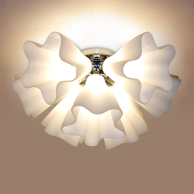 Ceiling Light Japanese: Modern Brief Romantic Led Ceiling Light Japanese Style