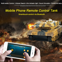2016 Newest Remote Control Toys Battle RC Tank Control via Mobile Phone Bluetooth Super Power RC Toy(China (Mainland))