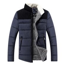 Fashion Mens Down Jackets Turn-down Collar Mens Winter Jackets long Sleeve Casual Warm Outdoor Jackets Coats Wholesales