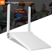 Inglese versione xiaomi router originale mini mi router wifi router ac wifi roteador dual band 2.4/5 ghz 1167 mbps ios/android app(China (Mainland))