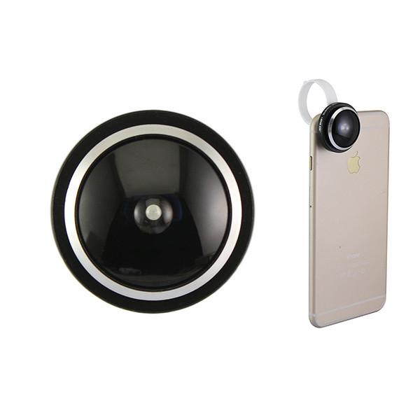 Detachable Clamp 235 Degree 0.4x Super Fisheye Lens for Smart Phone iPhone 6 ipad Samsung Galaxy S6 (3)