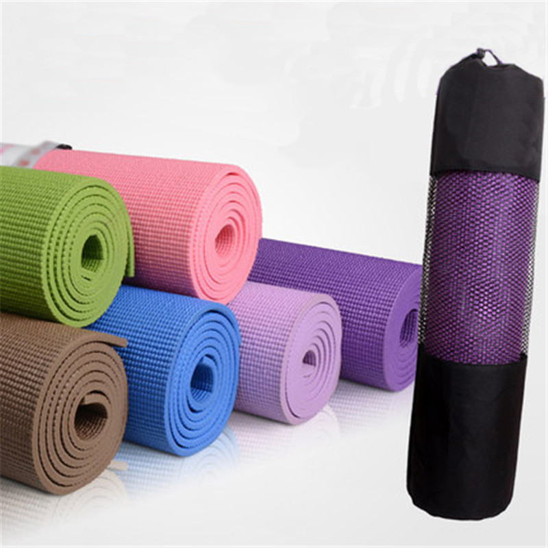 2015 New Arrival 6mm Thick Non-Slip And Durable Yoga Mat Exercise Fitness Lose Weight Exercise Mat Body Building mats  Wholesale