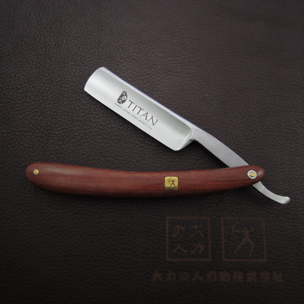 free shipping Handle razor hand made wooden handle RAZOR straight razor(China (Mainland))