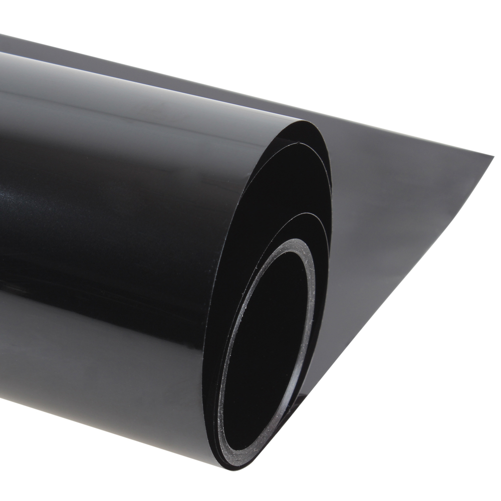 50 300cm black window tint film glass 9 roll 2 ply house for Window tint film