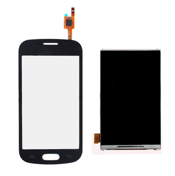 For Samsung Trend Lite GT-S7390 S7392 S7390 Touch Screen Glass Sensor + LCD Display Panel Screen Monitor Repair Replacement(China (Mainland))