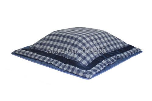 (2pcs/set) FU25 Living Room Home Textile Wash Kotatsu Futon Fire Safe Square 195*195cm Japanese Kotatsu Quilts Top & Bottom Set(China (Mainland))