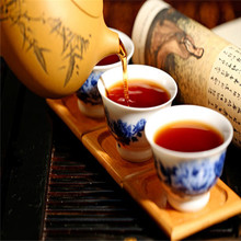 Wholesale 360g Natural Yunnan Seven Cake Tea Cooked Tea China Yunnan PuEr Tea Cake Puerhcha Yuancha