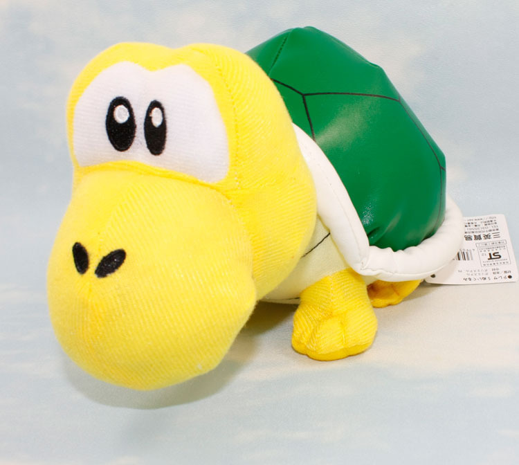 50PCS  Super Mario Koopa Dolls Green Shell Turtles Plush Toys soft stuffed dolls 24cm Retail<br><br>Aliexpress