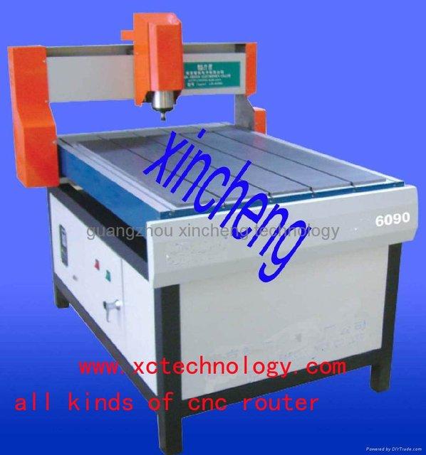 advertising cnc acylic working machine XC6090