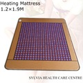 NEW Product Purple mesh 4CM jade stone heating massage mattress Far infrared Heat Therapy Healing Jade