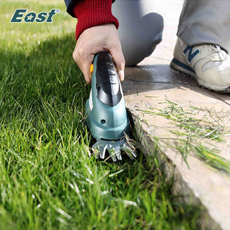 East garden power tools 3.6V 2 IN 1 Combo Lawn Mower Li-Ion Rechargeable Hedge Trimmer Grass Cutter Cordless Factory ET1205C(China (Mainland))