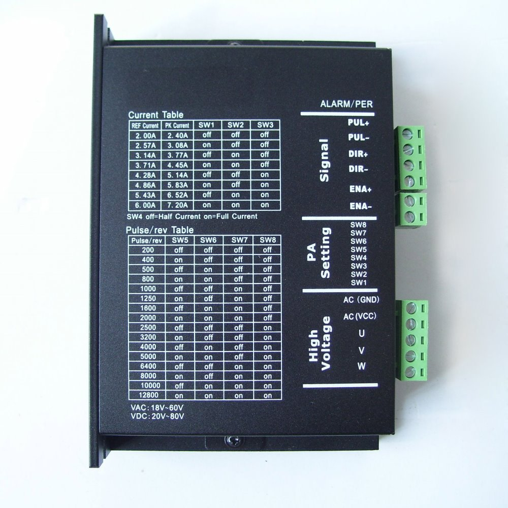 Buy 3 phase stepper motor driver 3ma860 for Three phase stepper motor