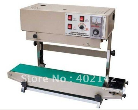 100% Warranty vertical heat sealer,plastic bag sealing machine+stainless steel+teflon belts+wholesale price(China (Mainland))