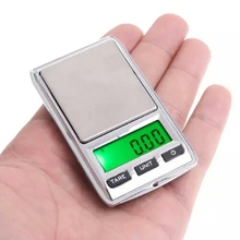 Buy Silver Stainless steel Mini Digital Scale Pocket Dua Scale Jewelry Kitchen/xj for $19.00 in AliExpress store