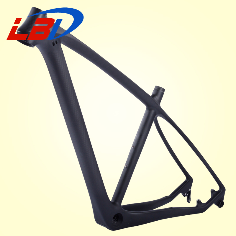 Hot-selling 29er carbon mountain bike frames,fit for 31.6mm seatpost with quick release and thur axle exchanged mtb frames(China (Mainland))