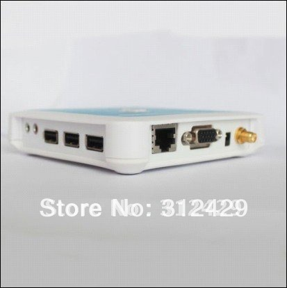 WIFI pc station thin client n380W,support mic, 3 usb port, support window 7,wide screen 1440*900(China (Mainland))
