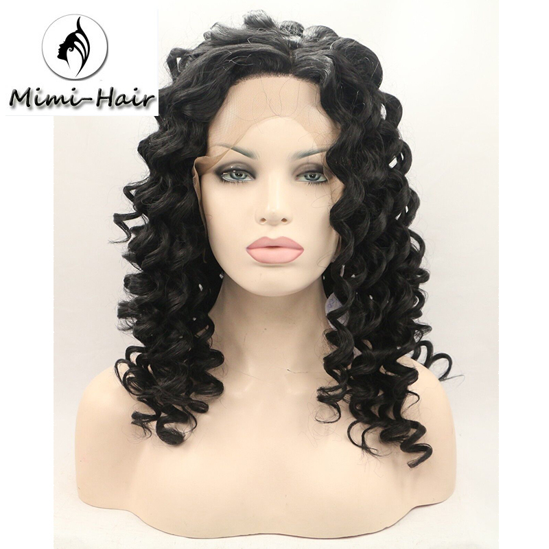 Mimihair Afro Kinky Curly Wigs African American Short ...