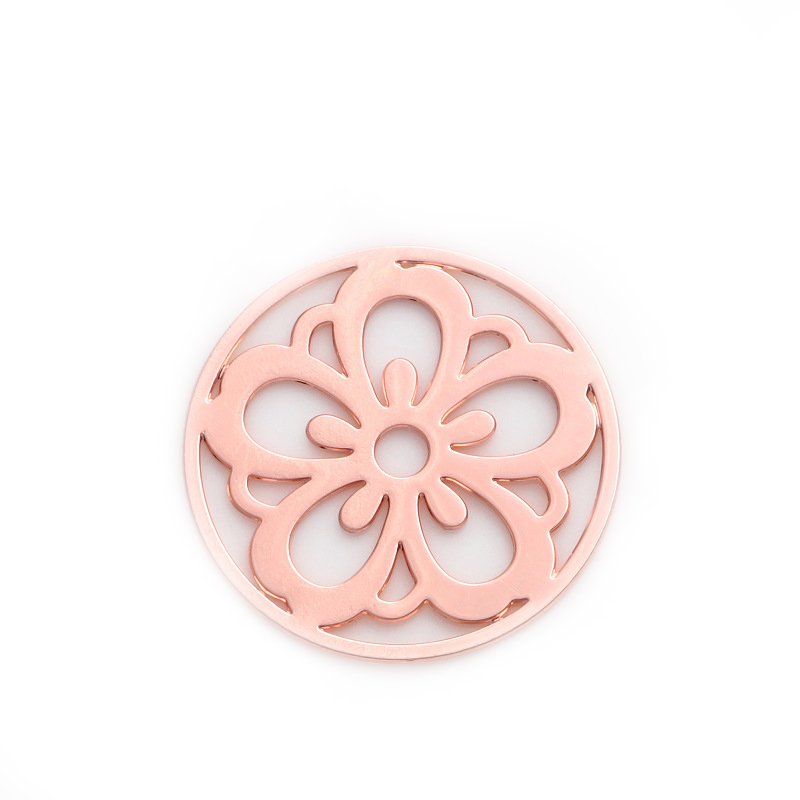 Hot sale 22mm Mixed design 10pcs rose gold Round Window Plate Charms rose gold Floating Plates fit 30mm Glass Locket , WS-13-02(China (Mainland))