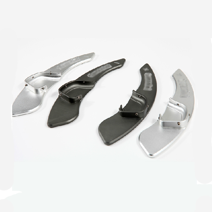 Фотография 2pcs High quality Aluminum Steering Wheel Shift Paddle Shifter Extension For Hyundai Rohens /Coupe /IX35