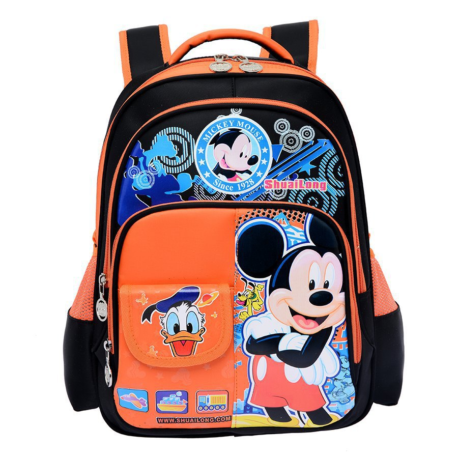 Children Waterproof Bookbag Travel Rucksack School Bag Rose Red ...