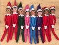 2pcs lot The Elf On The Shelf Plush Doll Christmas Tradition Kids Birthday 37cm Plush Toys