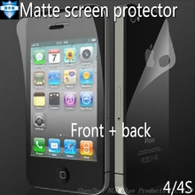 5pcs for iphone 4s Screen Protector Film Guard for iphone4 4s Direct Selling for apple iphone 4s New Matte Anti Glare Full Body