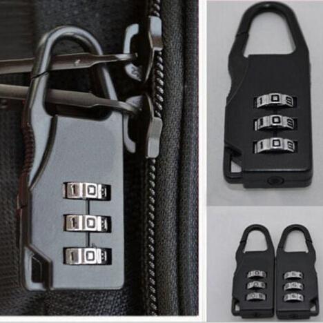 New Design Travel Padlocks Case Bag Password Digit Code Bag Locks Luggage Suitcase Combination Lock(China (Mainland))