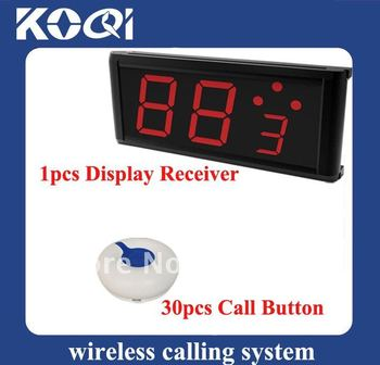 Can show how many next coming callings ;DHL freeshipping ; Restaurant , Coffee shop , Hotel  Wireless Call System